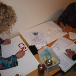 how to make a protest placard workshop